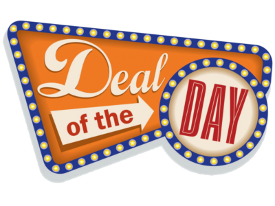 Deal of the day transparent